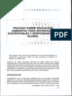Tratado Educacion Ambiental Con Responsabilidad Global
