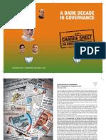A Dark Decade in Governance Aarop Patr Cvrt