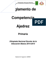 Reglamento Ajedrez - Copia