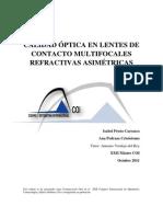 Calidad Optica en Lc Multifocales