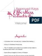 8 Yogini Approved Keys to Effortless Productivity - Slides