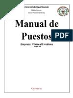 Ejem. Manual de Puestos