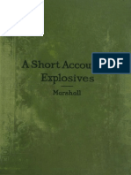 a Short Account of Explosives 1917