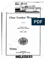 Close Combat Weapons July 1917