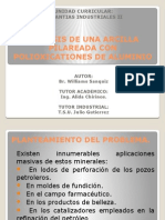 Sintesis de Una Arcilla Pilareada Con Polioxicationes de Aluminio (Presentacion)