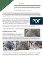 Fenomenos de Estallido de Rocas Importancia Del Monitoreo