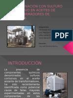 Contaminación Con Sulfuro Corrosivo en Aceites de Transformadores de Potencia