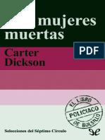 Mis Mujeres Muertas - Carter Dickson
