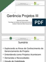 Aula 3 - Definição de Projetos III
