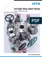 CATALOGO KITZ Ss High Alloy Steelvalves