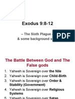 Exodus 9:8 12