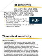 Theoretical Sensitivity