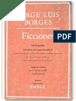 Jorge Luis Borges - Analisis de lo fantástico en Ficciones