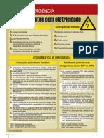 Dicas de emergência - Acidentes com eletricidade