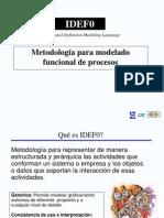 3.3 - Diagramas IDEF 0 y 3
