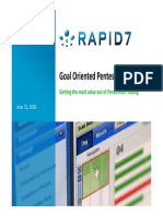 Goal Oriented Pentesting