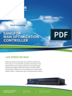 Sangfor WAN Optimization Brochure