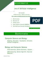 AI Application Bioinformatics
