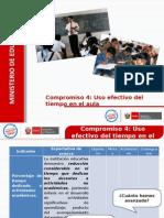 12set PPT Compromiso 4 - Uso Del Tiempo en El Aula