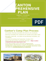 Canton Comprehesnive Plan June 2015 Meetings