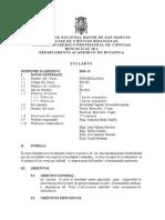 Etnobiologia Plan 2003, Prof.joaquina Alban Sem 2014-2