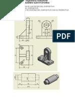 EXAMEN de modelado 3D y ensamble en AutoCAD