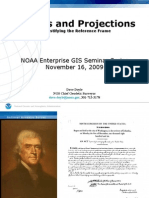 Datums and Projections NOS GIS 2