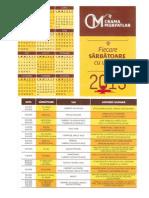 Calendar 2015 Murfatlar