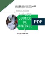 Tecnico Analisis Quimico de Minerales