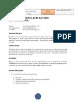 Programa Finanzas Corporativas(1)