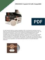 LaCompatibile NESPRESSO® Capsule Di Caffe Compatibili Qualita Amabile