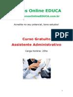 Curso Assistente Administrativo 80155