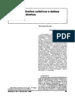 Defesa de Direitos Coletivos e Defesa Coletiva de Direitos