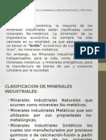 Importancia Economica de los minerales no metalicos