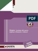 Guia Operativa Nº 4 - Mypes Ventajas Del Nuevo Régimen Tributario Laboral (OK)