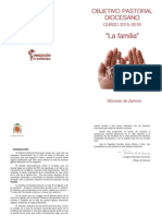 Objetivo Pastoral Diocesano 2015-16