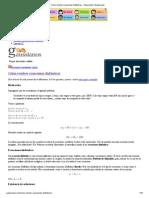 Cómo Resolver Ecuaciones Diofánticas - Gaussianos _ Gaussianos