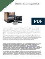 LaCompatibile NESPRESSO® Capsule Compatibili Caffe Espresso Bar
