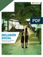 Grade_inclusión Social_dialogos Entre La Investigación y Las Políticas Pñúblicas