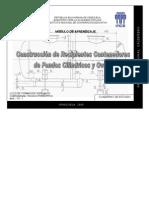 Construccion de Recipientes Contenedores de Fondos Cilindricos y Ovales