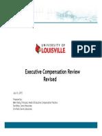 U of L Final Exec Comp Report v1