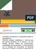 Comunicación en La Organizacion 7-05-2015