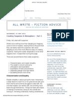 All Write - Fiction Advice_ May 2014