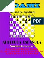 007. Apertura Española. Variante Breyer
