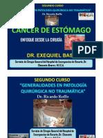 CANCER GÁSTRICO. CURSO DE CIRUGIA DEL SERVICIO DE CIRUGIA GENERAL DEL HOSPITAL DE EMERGENCIAS DE ROSARIO.