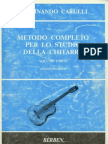 Carulli-Metodo Completo Per Lo Studio Della Chitarra