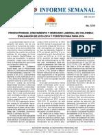 Anif 1210, Mar 17 de 2014 (Productividad, Crecimiento y Mercado Laboral en Colombia, Evaluación de 2010-2013 y Perspectivas Para 2014)