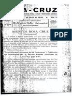 Revista Rosa Cruz Abril 1929