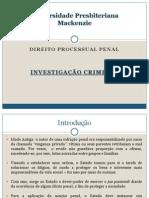 DPP I - Investigação Criminal
