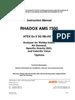 Instruction Manual RADOX analyzer